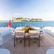 92 ft. Mangusta 92 Cruiser Boat Rental Miami Image 9
