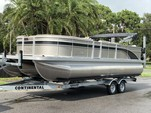 23 ft. Bennington Marine 22SSX SPS Tri-Toon Pontoon Boat Rental Tampa Image 1