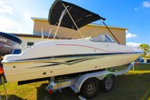 24 ft. Hurricane Boats FD 237 Deck Boat Boat Rental Fort Myers Image 2