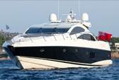 82 ft. Predator Yachts Sunseeker Cruiser Boat Rental Miami Image 4