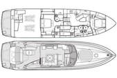 82 ft. Predator Yachts Sunseeker Cruiser Boat Rental Miami Image 13