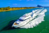 84 ft. Lazzara Marine 84 Motor Yacht Boat Rental Miami Image 8