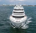 104 ft. 104 Johnson Motor Yacht Boat Rental Miami Image 2