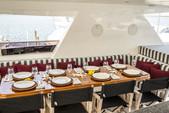 104 ft. 104 Johnson Motor Yacht Boat Rental Miami Image 15