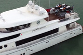 104 ft. 104 Johnson Motor Yacht Boat Rental Miami Image 20