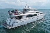 104 ft. 104 Johnson Motor Yacht Boat Rental Miami Image 43