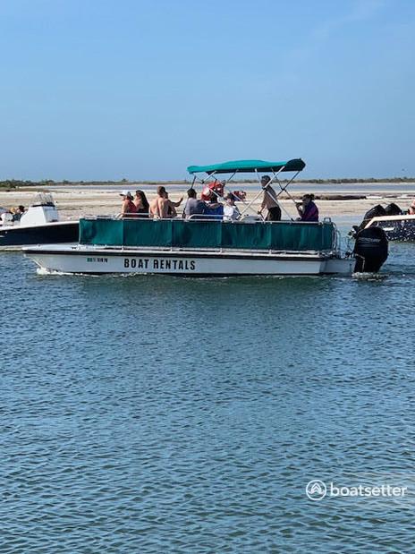 Rent a Summer Breeze pontoon in Tarpon Springs, FL near me
