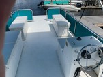 24 ft. Summer Breeze 8x24 2-Hull w/bimini top Pontoon Boat Rental Tampa Image 2