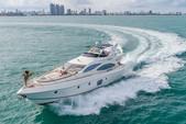 68 ft. Azimut Yachts 68' Fly Bridge Flybridge Boat Rental Miami Image 4