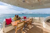 68 ft. Azimut Yachts 68' Fly Bridge Flybridge Boat Rental Miami Image 6