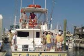 43 ft. Sportfishing 43' Performance Fishing Boat Rental Jacksonville Image 4