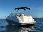 25 ft. Sea Ray Boats 240 Sundancer Cruiser Boat Rental Tampa Image 1