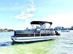 22 ft. Sun Tracker by Tracker Marine Party Barge 22 DLX w/115ELPT 4-S Pontoon Boat Rental Miami Image 1