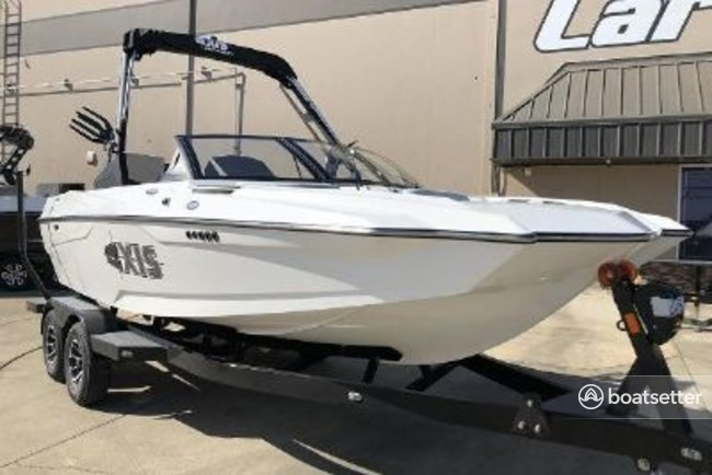 Rent a Axis Wake Research bow rider in Nevada City, CA near me