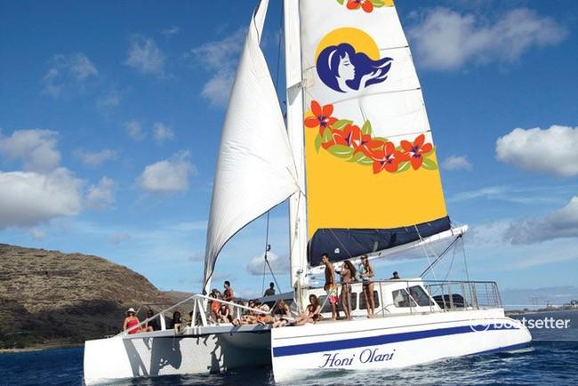 Rent a Lagoon Boats catamaran in Honolulu, HI near me