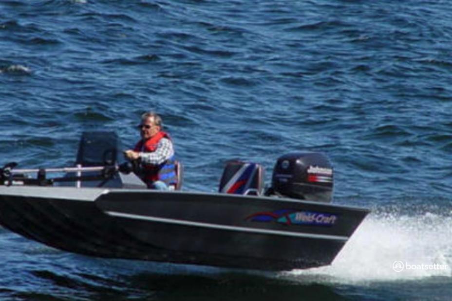 Rent a Weldcraft  bass boat in Gilbertsville, KY near me