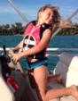 18 ft. TideWater Boats 1800 Bay Max  Pontoon Boat Rental Tampa Image 3