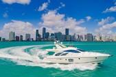 57 ft. Azimut Yachts 55 Flybridge Boat Rental Miami Image 1