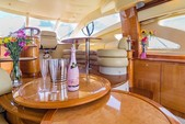 57 ft. Azimut Yachts 55 Flybridge Boat Rental Miami Image 8