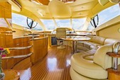 57 ft. Azimut Yachts 55 Flybridge Boat Rental Miami Image 9