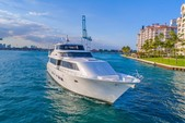 103 ft. Westport Flybridge Mega Yacht Boat Rental Miami Image 1