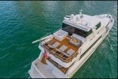 103 ft. Westport Flybridge Mega Yacht Boat Rental Miami Image 3