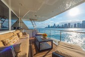 103 ft. Westport Flybridge Mega Yacht Boat Rental Miami Image 8