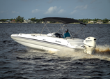 23 ft. Hurricane Boats 232 Sundeck   Deck Boat Boat Rental Fort Myers Image 1