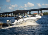 23 ft. Hurricane Boats SD 2200 I/O Deck Boat Boat Rental Fort Myers Image 2
