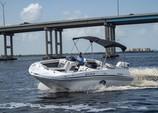 21 ft. Hurricane Boats 218 SunDeck Deck Boat Boat Rental Fort Myers Image 4