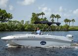 23 ft. Hurricane Boats 218 SunDeck Deck Boat Boat Rental Fort Myers Image 1