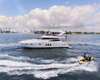 58 ft. Neptunus Yachts 56 Flybridge Motor Yacht Boat Rental Miami Image 13