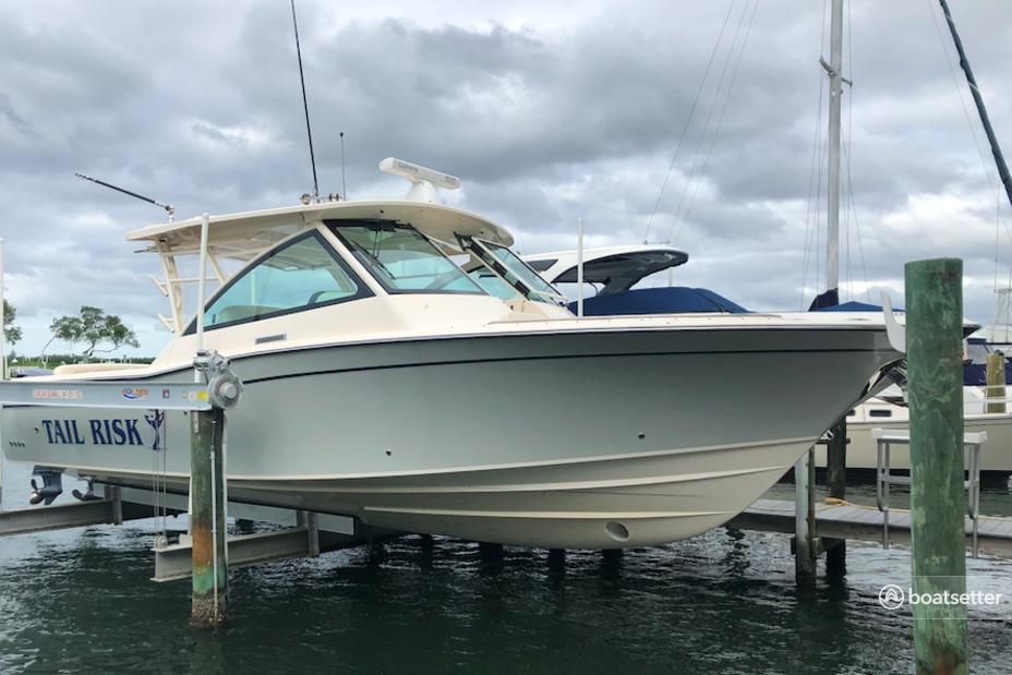 Rent a Grady-White Boats express cruiser in Longboat Key, FL near me