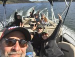 22 ft. Sun Tracker by Tracker Marine Fishin' Barge 22 DLX w/40ELPT 4-S Pontoon Boat Rental Rest of Southwest Image 7