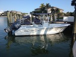 22 ft. Sea Hunt Boats Triton 225 Center Console Boat Rental Fort Myers Image 3