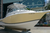 32 ft. Pro-Line Boats 32 Express Walkaround Boat Rental Miami Image 2