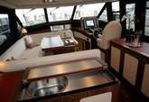 50 ft. Azimut Yachts Magellano Motor Yacht Boat Rental New York Image 4