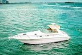 33 ft. Sea Ray Flybridge Boat Rental Miami Image 1