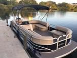 22 ft. Sun Tracker by Tracker Marine Party Barge 22 DLX w/90ELPT 4-S Pontoon Boat Rental Miami Image 1