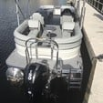 24 ft. Lowe Pontoons SS250 Mercury Pontoon Boat Rental Miami Image 5