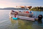 22 ft. Sun Tracker by Tracker Marine Party Barge 22 DLX w/115ELPT 4-S Pontoon Boat Rental Miami Image 3