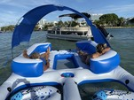 22 ft. Sun Tracker by Tracker Marine Party Barge 22 DLX w/115ELPT 4-S Pontoon Boat Rental Miami Image 15