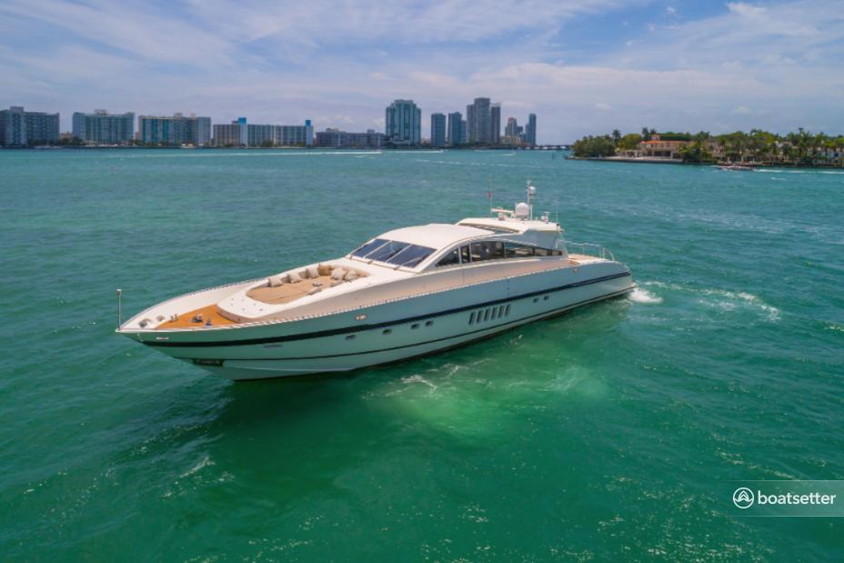 Rent a Leopard  mega yacht in Miami Beach, FL near me