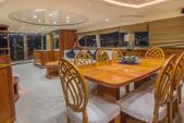 100 ft. Azimut Yachts 100 Jumbo Mega Yacht Boat Rental Miami Image 3