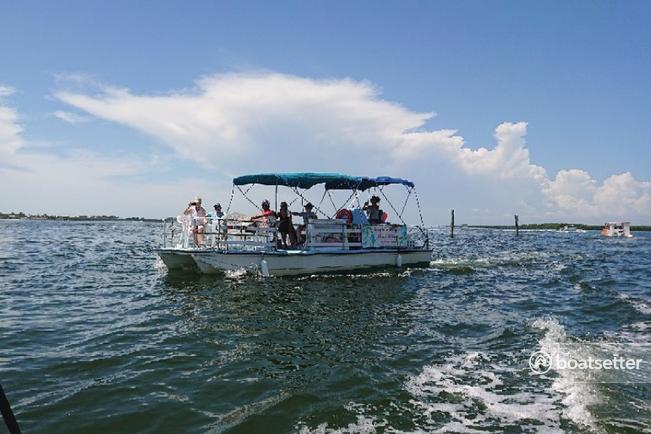 Rent a Avalon Pontoons pontoon in Bradenton Beach, FL near me