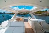 "75 ft. Lazzara Marine 75'4"" E Cruiser Boat Rental Miami Image 1"