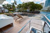 "75 ft. Lazzara Marine 75'4"" E Cruiser Boat Rental Miami Image 2"