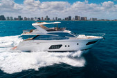 72 ft. 72 Absolute Cruiser Boat Rental Miami Image 8