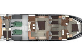 72 ft. 72 Absolute Cruiser Boat Rental Miami Image 55