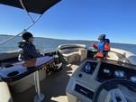 22 ft. Bennington Marine 22SLX Pontoon Boat Rental N Texas Gulf Coast Image 2